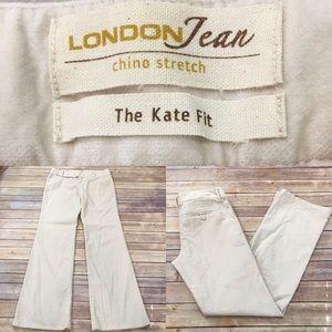 Size 8 Long London Jeans Bootcut Stretch Pants